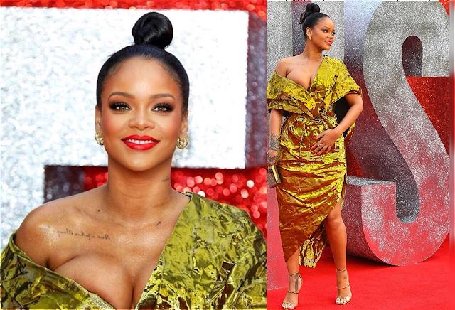 Rihanna ocean's 8 red carpet