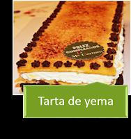 TARTA DE YEMA