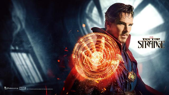 posterul filmului Doctorul Stephan Strange