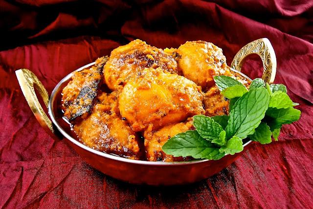 Indian sloww cooked baby potatoes