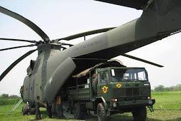 Positif, TNI AD Beli Helikopter Terbesar di Dunia dari Rusia.