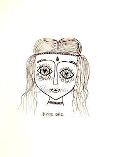 cuadros decorativos, cuadros hippie, lola mento, lola mento ilustraciones, cuadros originales, lolamento