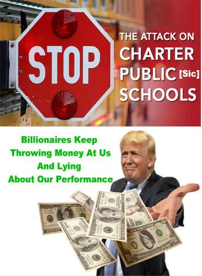 Image result for big education ape charter schools suck
