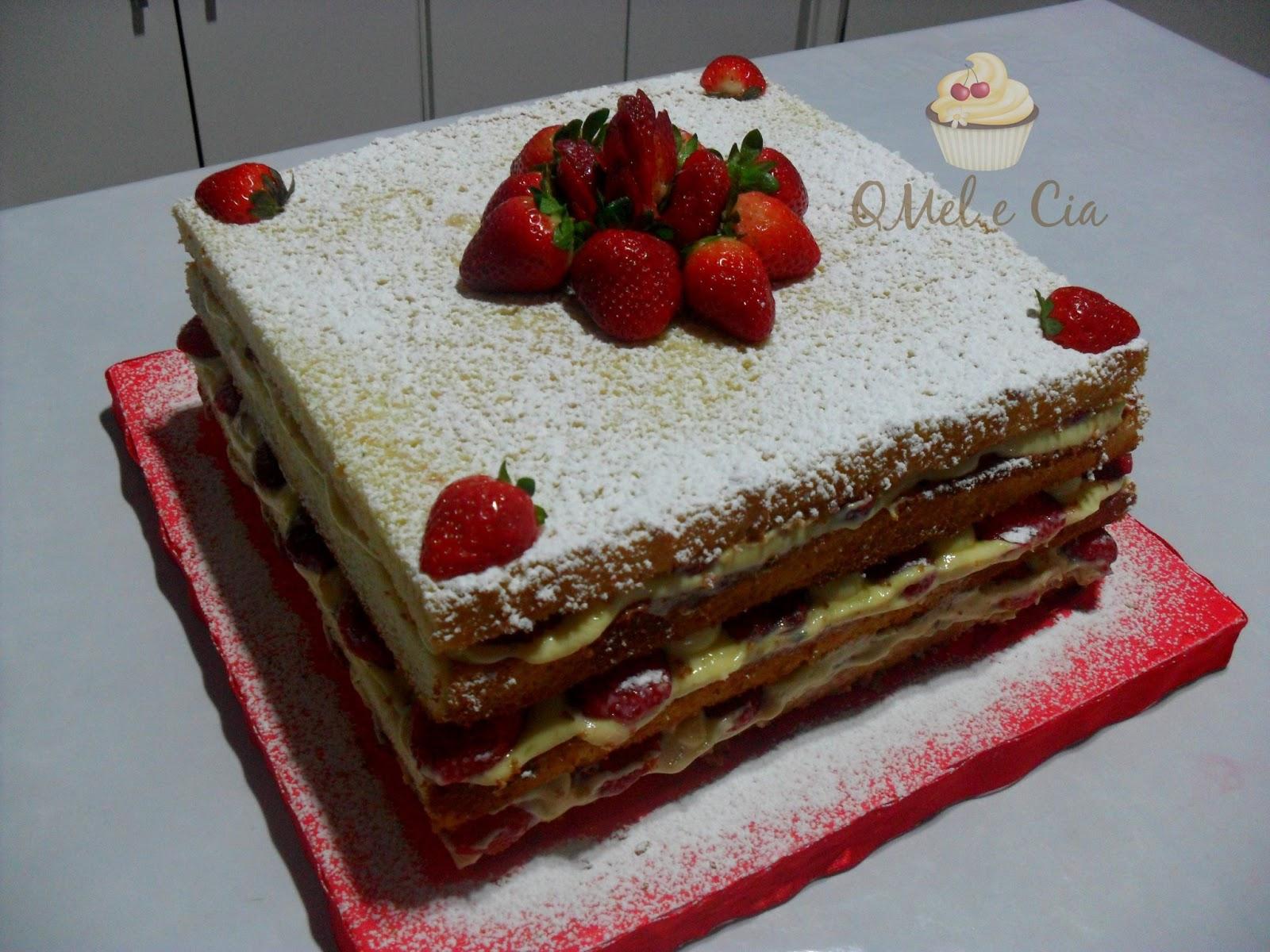 Chef em casa & cia: NAKED CAKE ou BOLO PELADO