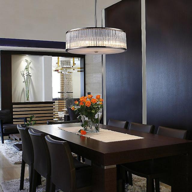 design Lampu Ruang Makan yang Unik