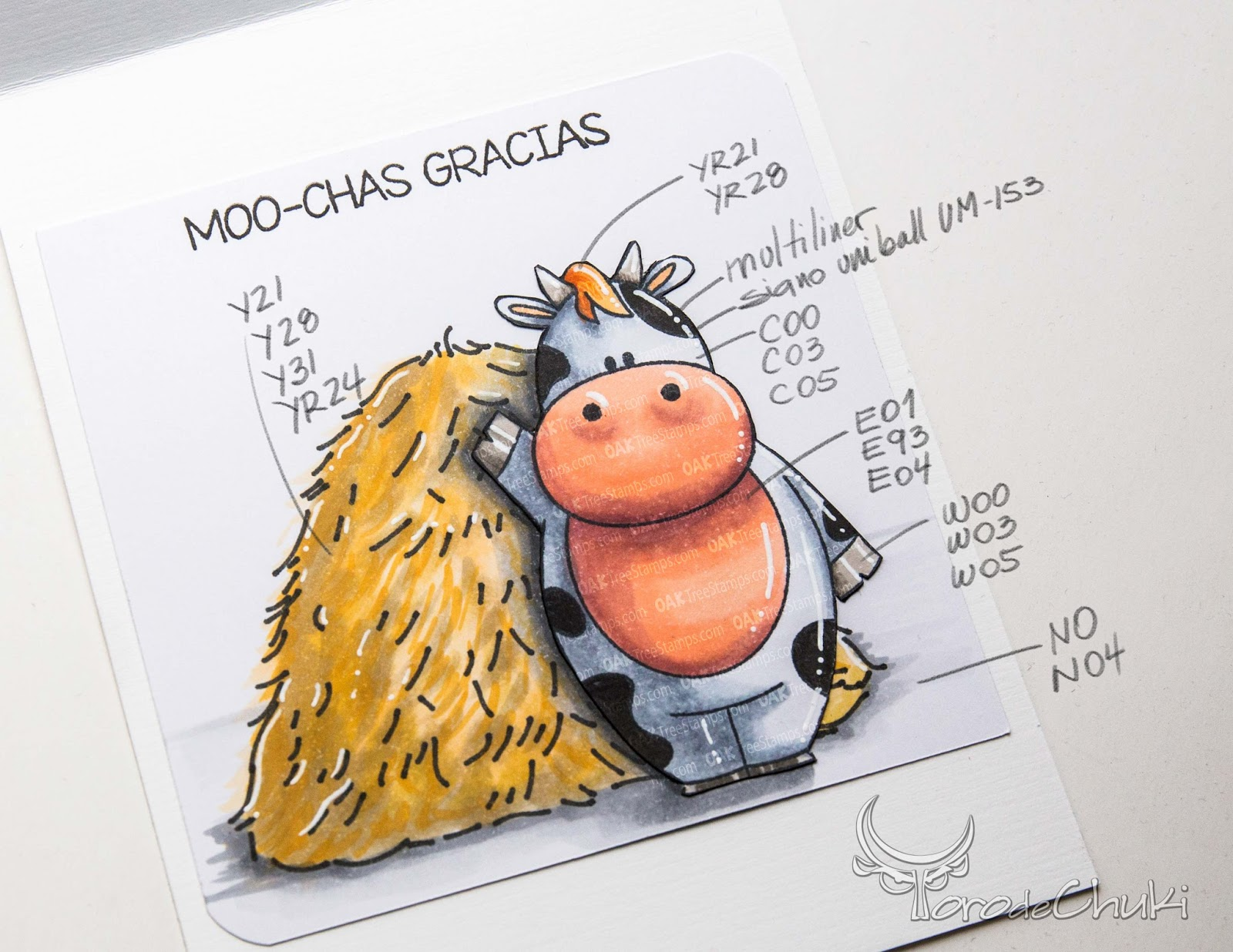 Awesome Svgs  Moo-chas Gracias Card