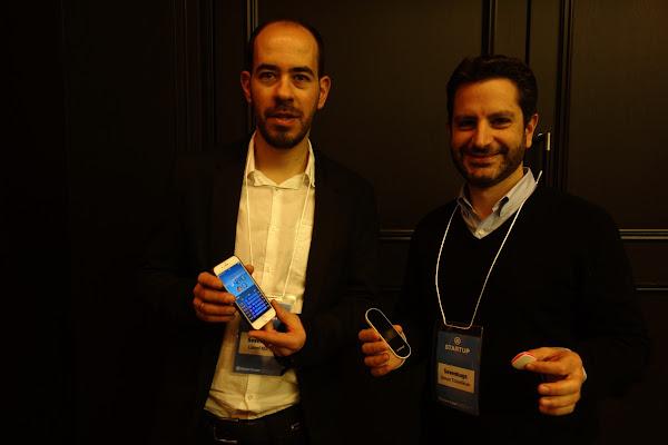 左為sevenhugs CEO暨共同創辦人Simon Tchedikian,右為CTO暨共同創辦人Lionel Marty