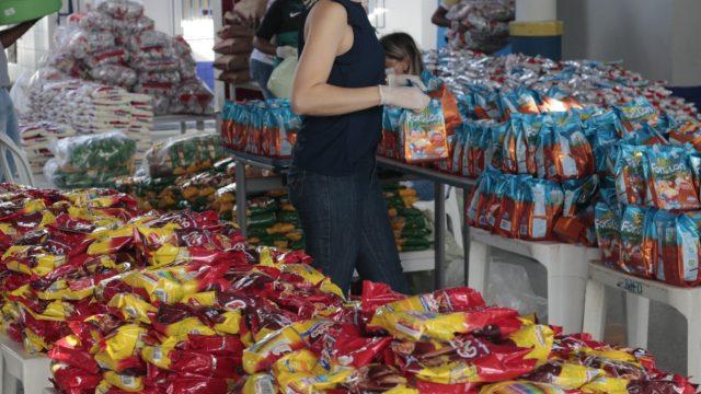 Prefeitura de Socorro prepara distribuição de Kits alimentação escolar para estudantes da rede municipal