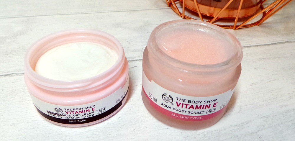 The Body Shop vitamin e moisturisers