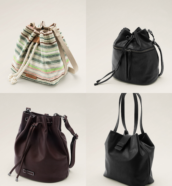 tendencias entretiempo esprit bucket bag