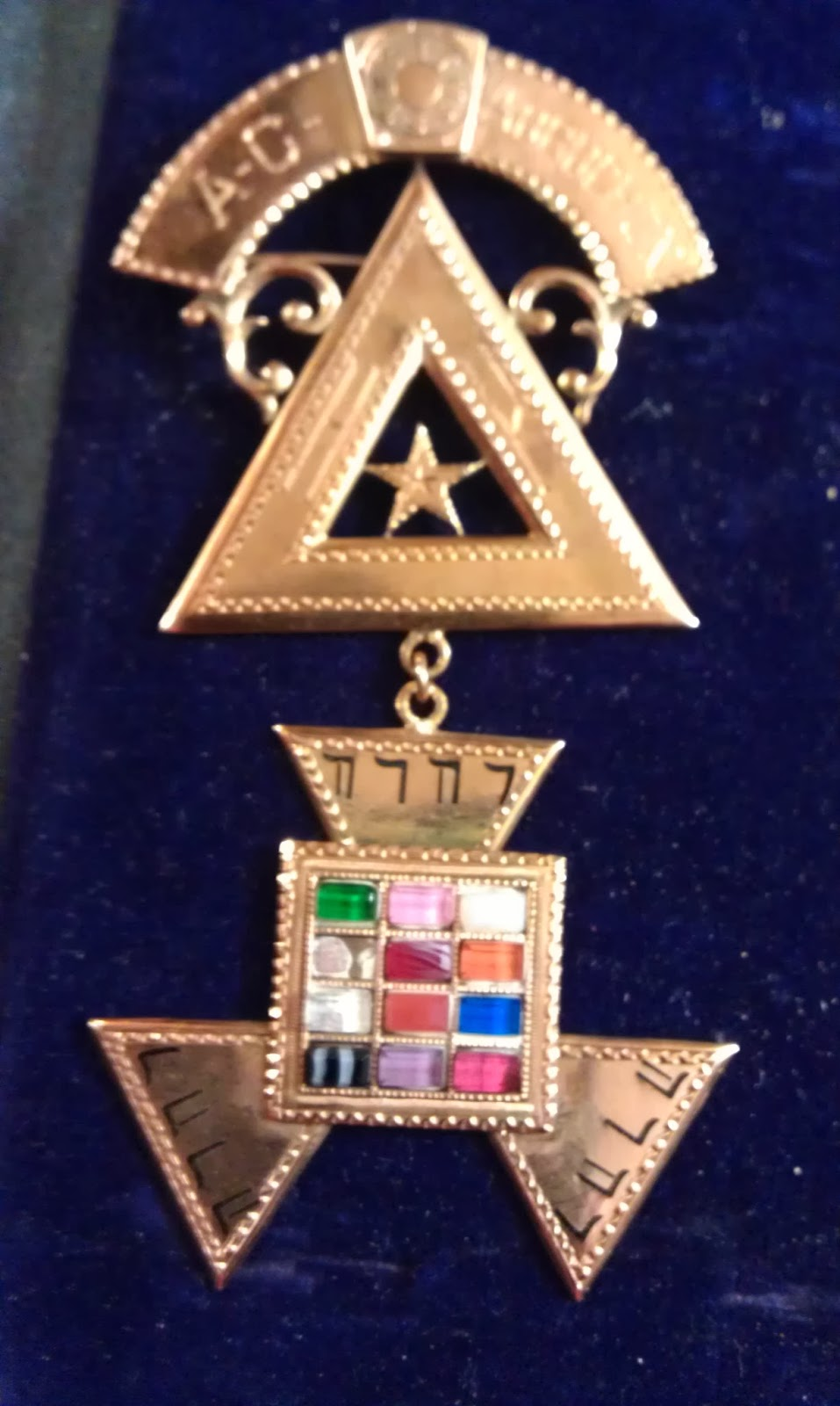Fraternal Jewel Collection: Past High Preist - Holy Royal Arch