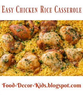 Easy Chicken Rice Casserole