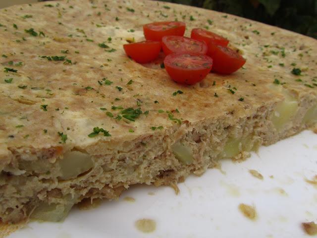 Tortilla de atún y patata Thermomix
