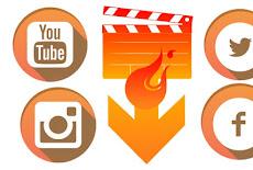 تنزيل اسهل تطبيق لتحميل ملفات الفديو مباشر من الفيس بوك وتويتر ويوتيوب باكثر من جودة