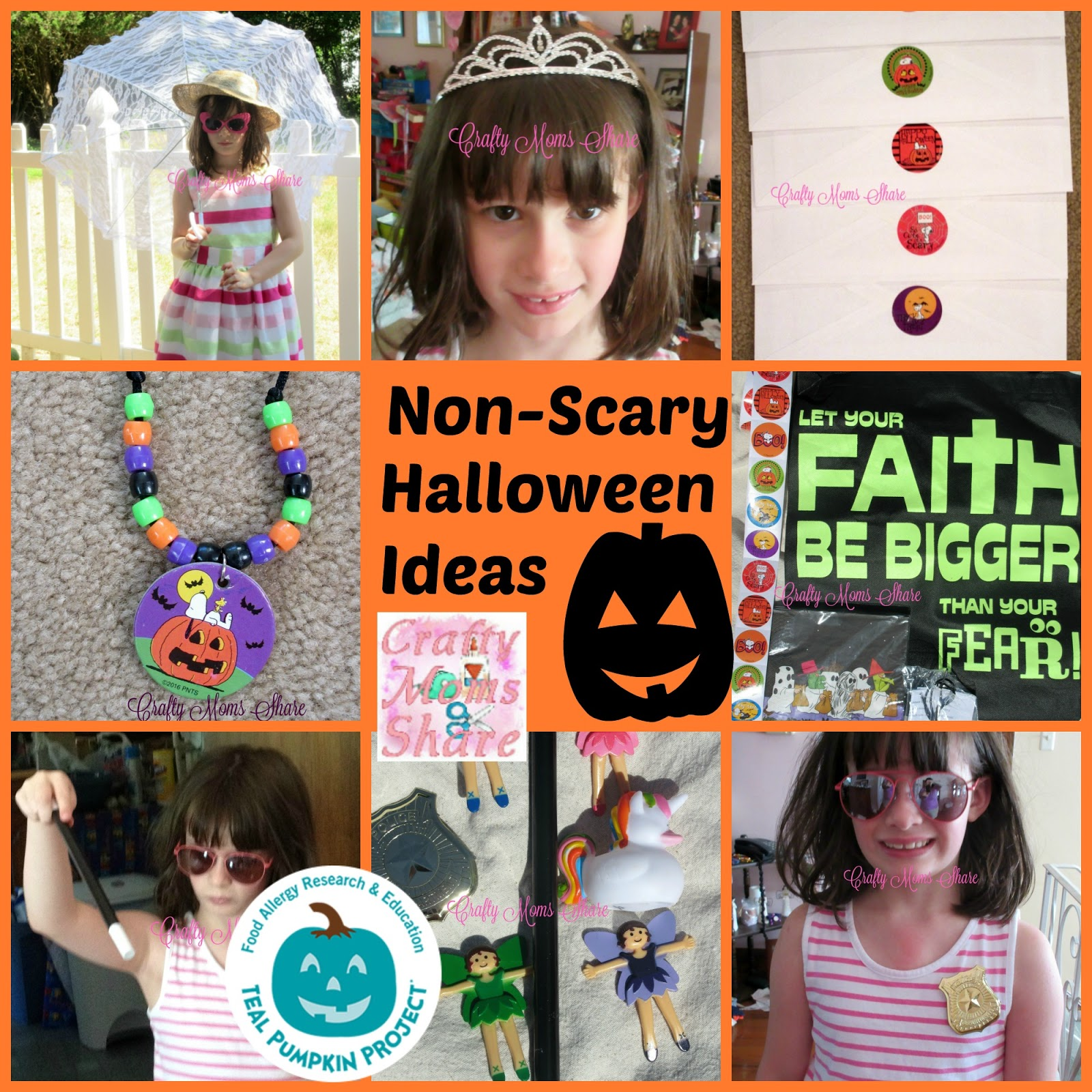 Crafty Moms Share: Non-Scary Halloween Part 1 -- Peanuts Party ...