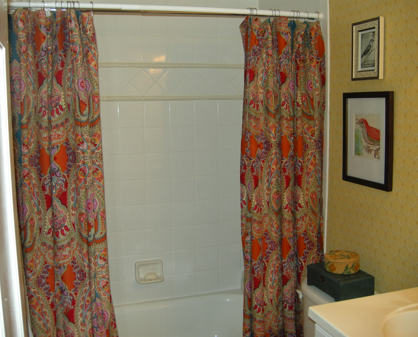 Cooking + Praying: Shower curtain festival