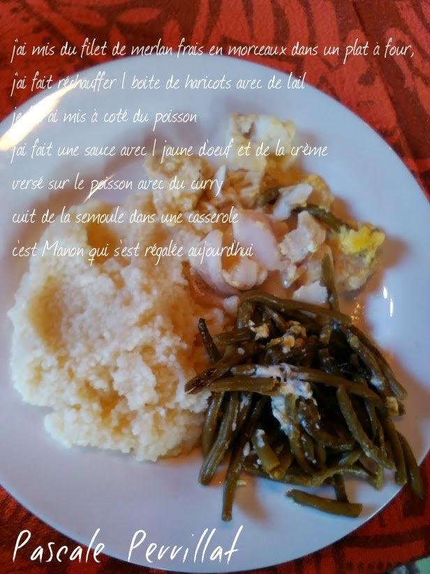 nounou pascale  ma recette du jour   poisson au four
