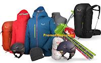 Logo Salewa GetVertical: vinci gratis outfit, buoni spesa Salewa e 2 Base Camp Experience