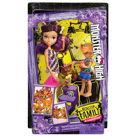 MH Monster Family Clawdeen Wolf Doll