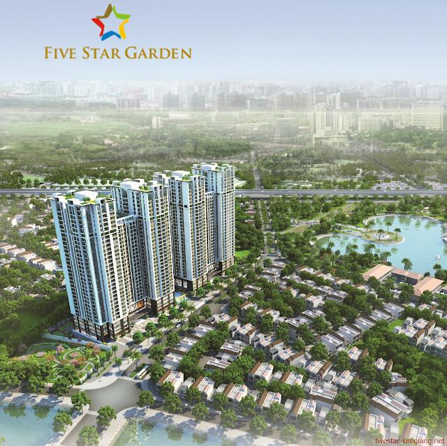 Phối cảnh dự án Five Star Garden