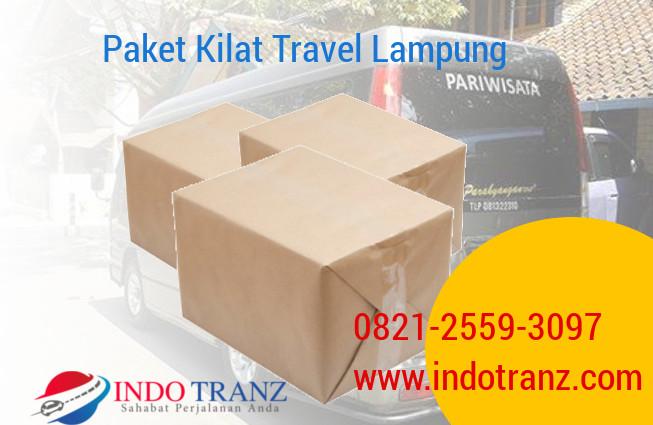 Paket Kilat via Travel Lampung