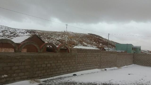 inzwischen schneit es ununterbrochen