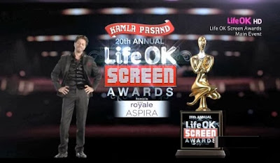 20th Annual Life OK Screen Awards Walk of Life 720p HDTV