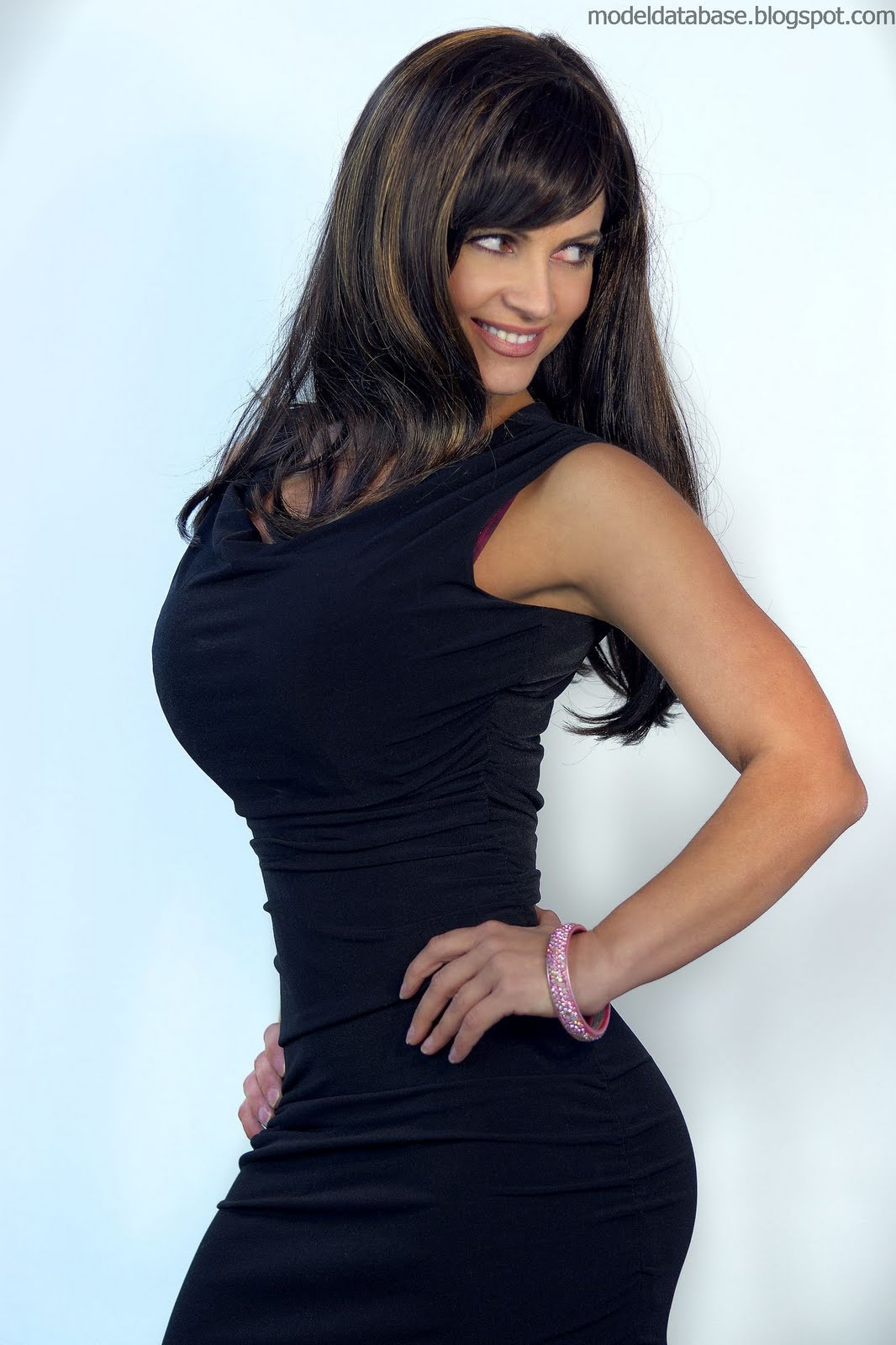 denise milani in a dress - photo #46