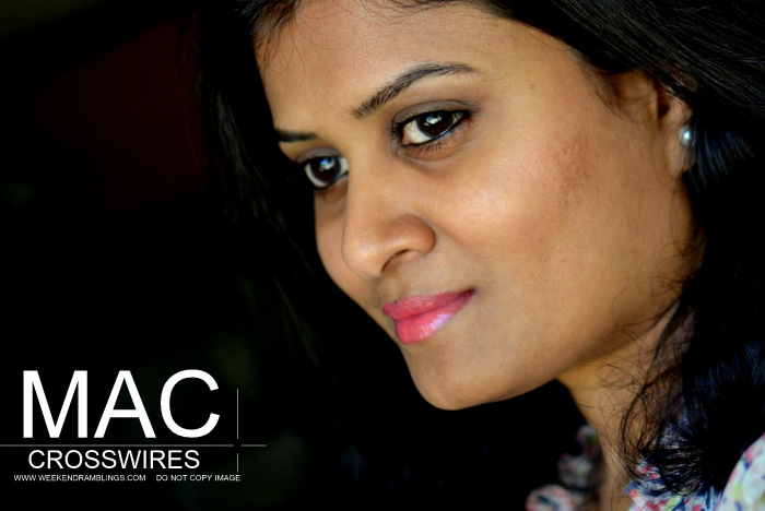 MAC Cremesheen Lipstick Crosswires - Summer Makeup Look