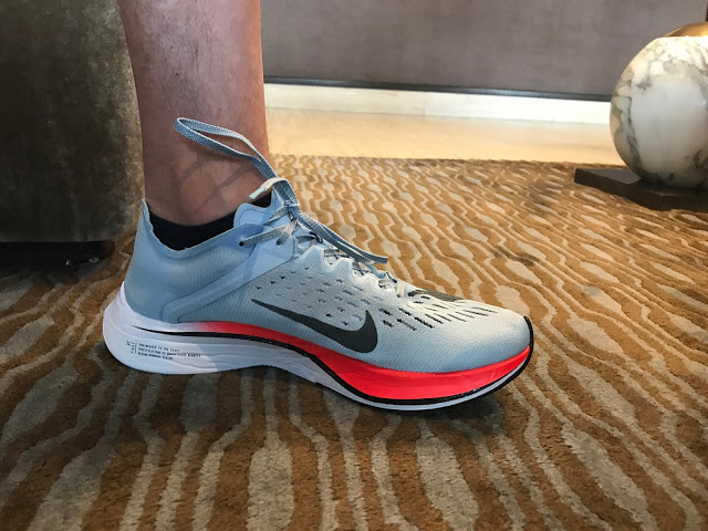 fef59765f0f Road Trail Run  Nike Zoom Fly First Run Impressions Review  Good ...