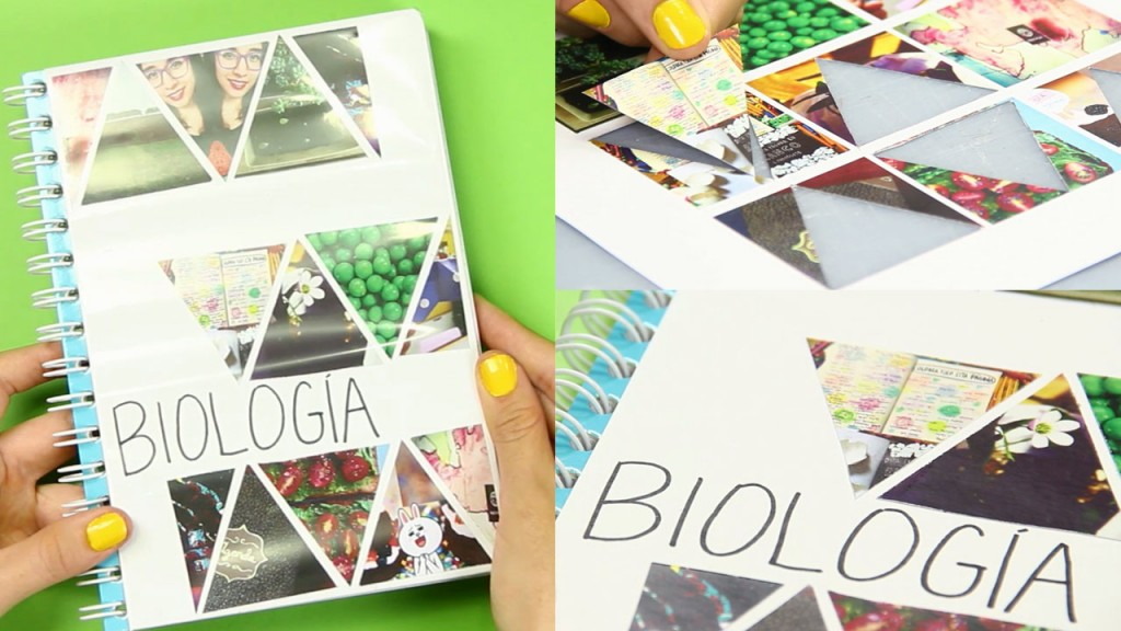 Ideas De Portadas Para Cuadernos Decorar Libretas Con: DO IT YOURSELF.: 5 Ideas Para Decorar Tus Cuadernos O Libretas