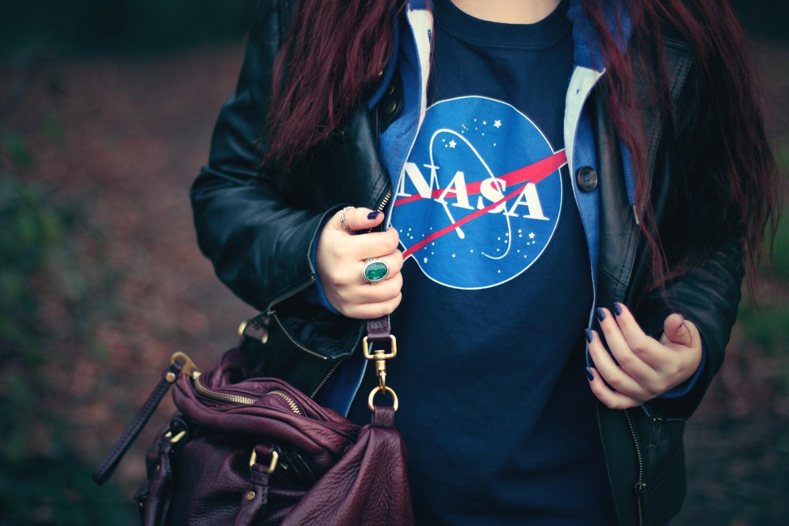 T Shirt NASA & Boots Caterpillar - Blog Mode