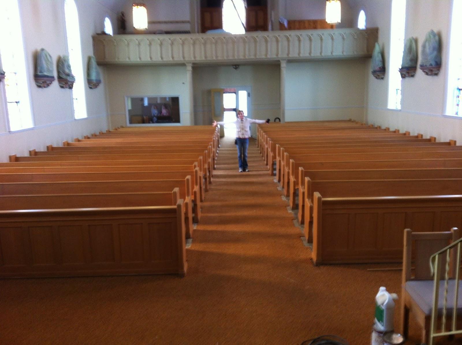 Church Pew Restoration And Refinishing  Church Pew