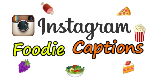 Food Instagram captions, Instagram captions for birthday