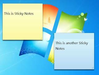 Cara Menampilkan Catatan di Desktop
