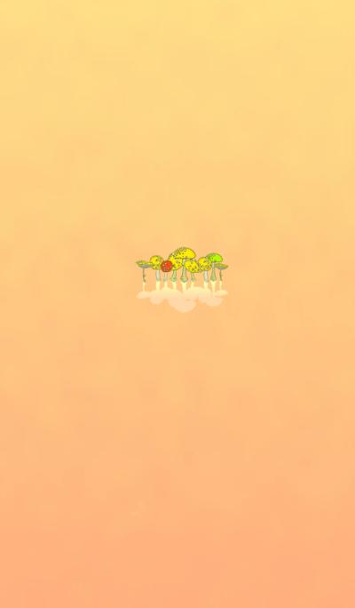 Mushrooms Favorite Yellow