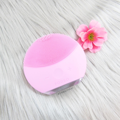 foreo luna mini 2 petal pink - the beauty puff