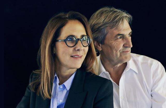 Christine Nagel - aktualny nos marki Hermes oraz Jean Claude Ellena, emerytowany perfumiarz Hermes