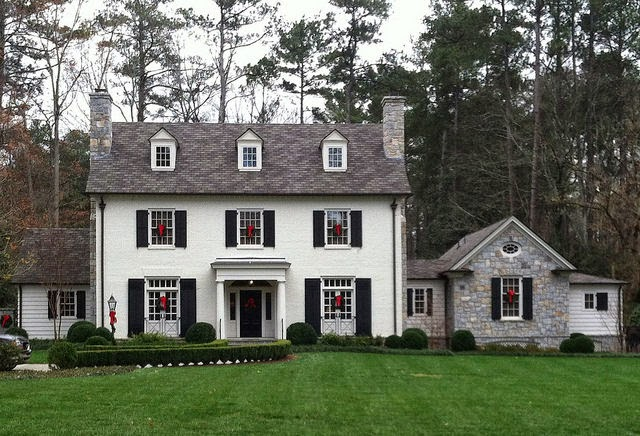 Things That Inspire A Classic White House Black Shutters