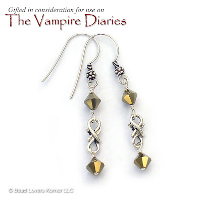 Earrings worn by Elena Gilbert on Vampire Diaries