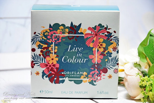 LIVE IN COLOUR, od Oriflame.