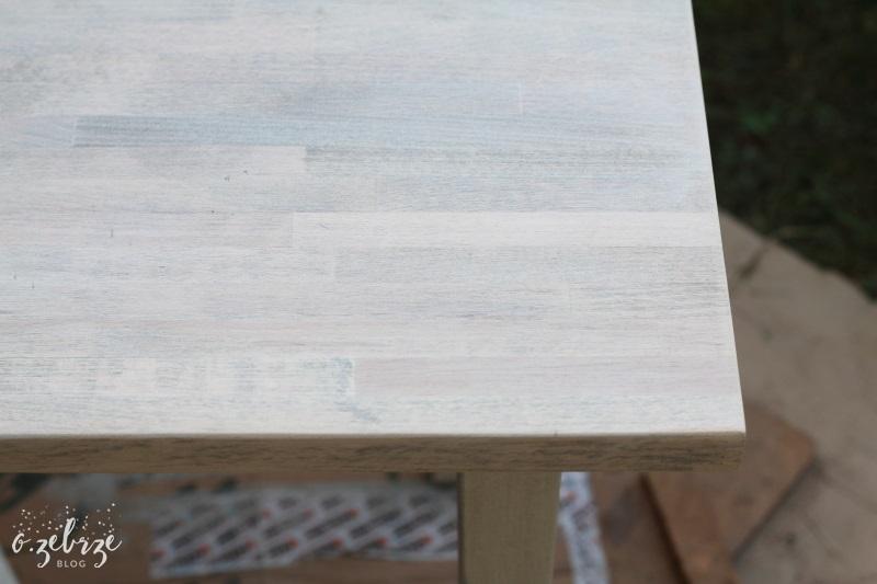 drewniany blat