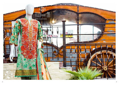 Junaid Jamshed new spring summer dresses collection 2017 for ladies.