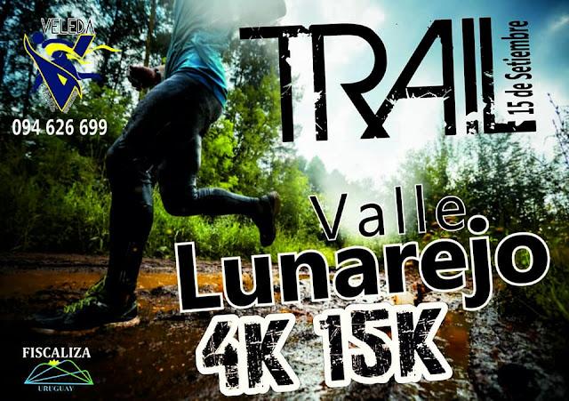 15k y 4k Trail Valle del lunarejo (próx. a Tranqueras - Rivera, 15/sep/2018)
