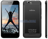 Cara Flashing Infinix Alpha Marvel X502