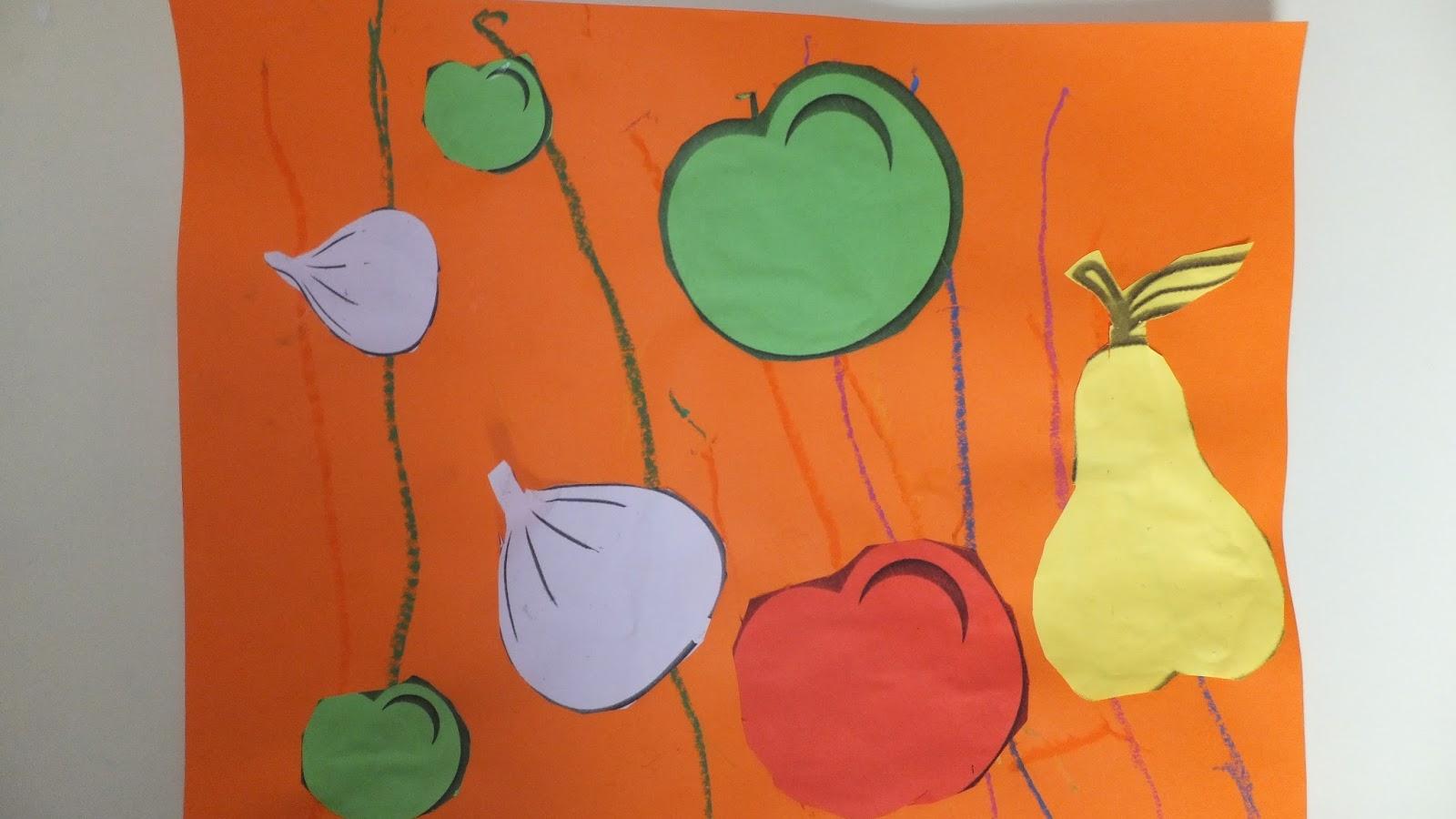 Coloriage Fleur Tps.Le Livre De Sapienta Fruits D Automne Composition Tps Ps