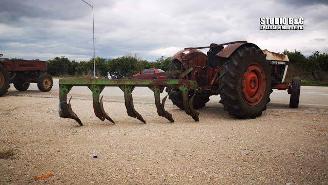 Την Κυριακή κλείνουν την Ε.Ο. Ναυπλίου - Μυκηνών οι αγρότες της Αργολίδας