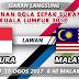 Live Streaming Malaysia vs Singapura 16.8.2017 Sukan SEA