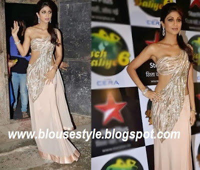 SHIPA SHETTY IN DESIGNER SAREE