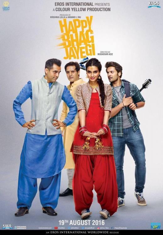 Happy Bhaag Jayegi 2016 Full Movie Free Download HD CAM thumbnail